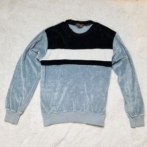 Retro Velvet Sweatshirt